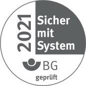 Gütesiegel Sicher mit System 2021